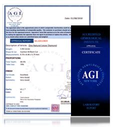 AGI Certificate