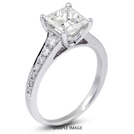 Wedding rings princess cut tiffany
