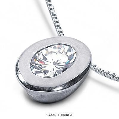 Platinum solid style solitaire pendant 062 carat d vs2 oval shape platinum solid style solitaire pendant 062 carat d vs2 oval shape diamond aloadofball Choice Image
