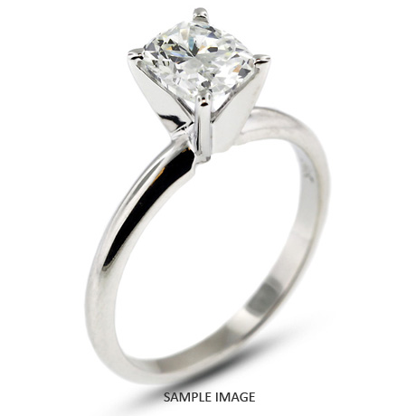 Platinum Classic 1 35ct E Si1 Rectangular Cushion Cut From Tiffany Jones Designs
